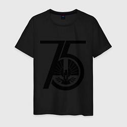 Футболка хлопковая мужская The Hunger Games 75 цвета черный — фото 1
