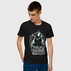 Мужская хлопковая футболка с принтом Bring Me The Horizon, цвет: черный, артикул: 10216898100001 — фото 2