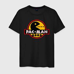 Футболка хлопковая мужская PAC-MAN цвета черный — фото 1