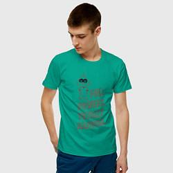 Футболка хлопковая мужская Jack-Jack Parr цвета зеленый — фото 2