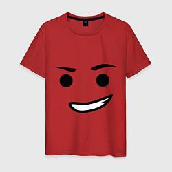 Футболка хлопковая мужская Emmet цвета красный — фото 1