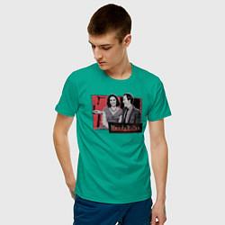 Футболка хлопковая мужская WandaVision цвета зеленый — фото 2