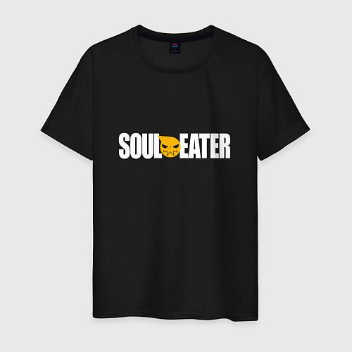 Мужская футболка Soul Eater: White / Черный – фото 1