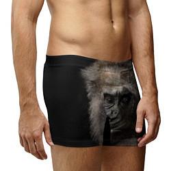 Трусы-боксеры мужские Глаза гориллы цвета 3D — фото 2