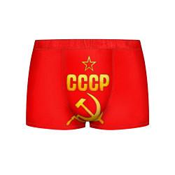 Мужские 3D-трусы боксеры с принтом СССР, цвет: 3D, артикул: 10116623003997 — фото 1