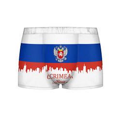 Трусы-боксеры мужские Crimea, Russia цвета 3D-принт — фото 1