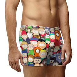 Трусы-боксеры мужские South Park персонажи цвета 3D — фото 2