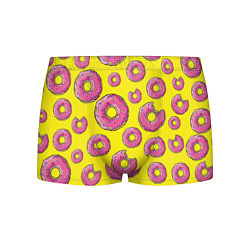 Трусы-боксеры мужские Пончики Гомера цвета 3D-принт — фото 1