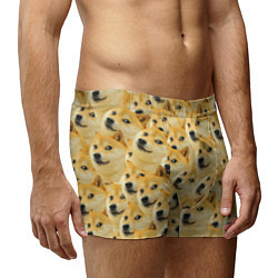 Трусы-боксеры мужские Doge цвета 3D — фото 2
