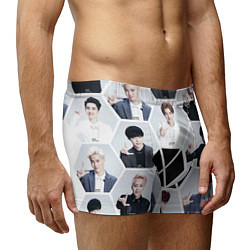 Трусы-боксеры мужские EXO Boys цвета 3D-принт — фото 2