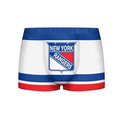 Трусы-боксеры мужские New York Rangers цвета 3D-принт — фото 1