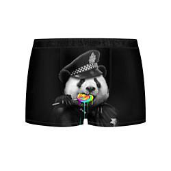 Трусы-боксеры мужские Панда с карамелью цвета 3D — фото 1