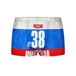 Трусы-боксеры мужские Russia: from 38 цвета 3D-принт — фото 1
