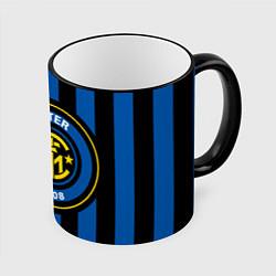 Кружка 3D Inter FC 1908 цвета 3D-черный кант — фото 1