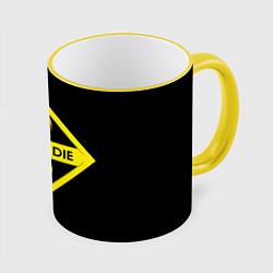 Кружка 3D FORD цвета 3D-желтый кант — фото 1