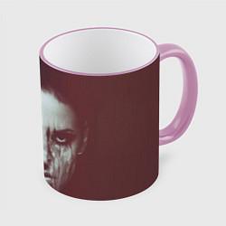 Кружка 3D Chelsea Grin: Death Girl цвета 3D-розовый кант — фото 1