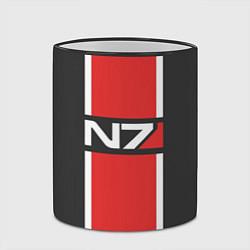Кружка 3D Mass Effect: N7 цвета 3D-черный кант — фото 2