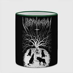 Кружка 3D Wolves in the Throne Room цвета 3D-зеленый кант — фото 2