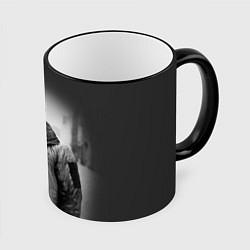 Кружка 3D Hardy Style цвета 3D-черный кант — фото 1