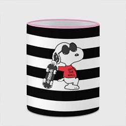 Кружка 3D Vans Doggy цвета 3D-розовый кант — фото 2