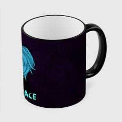 Кружка 3D Sally Face цвета 3D-черный кант — фото 1