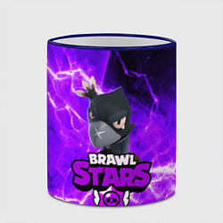Кружка 3D BRAWL STARS CROW цвета 3D-синий кант — фото 2