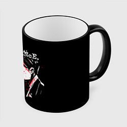 Кружка 3D My Chemical Romance цвета 3D-черный кант — фото 1