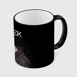Кружка 3D ЕГОР КРИД цвета 3D-черный кант — фото 1