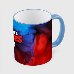 Кружка 3D BRAWL STARS цвета 3D-небесно-голубой кант — фото 1