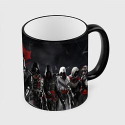 Кружка 3D Assassin's Creed Syndicate цвета 3D-черный кант — фото 1