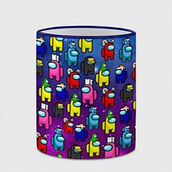 Кружка 3D AMONG US цвета 3D-синий кант — фото 2