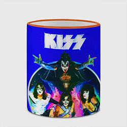 Кружка 3D Kiss Show цвета 3D-оранжевый кант — фото 2