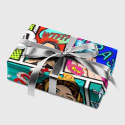 Бумага для упаковки POP ART цвета 3D-принт — фото 2