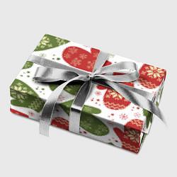 Бумага для упаковки Варежки цвета 3D — фото 2