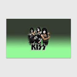 Бумага для упаковки Kiss цвета 3D — фото 1