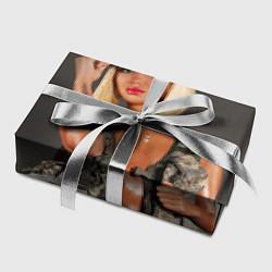 Бумага для упаковки Девушка в форме цвета 3D — фото 2