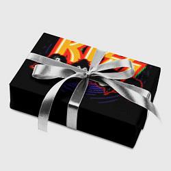 Бумага для упаковки KISS: Death Faces цвета 3D-принт — фото 2