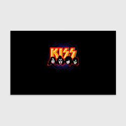 Бумага для упаковки KISS: Death Faces цвета 3D — фото 1