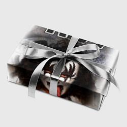 Бумага для упаковки KISS: Adult demon wig цвета 3D — фото 2