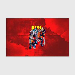 Бумага для упаковки KISS: Hot Blood цвета 3D-принт — фото 1