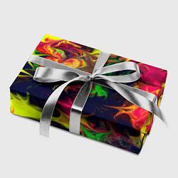 Бумага для упаковки Кислотный взрыв цвета 3D — фото 2