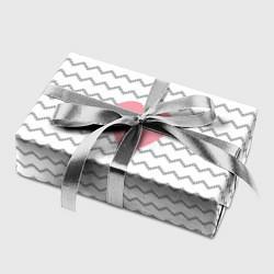 Бумага для упаковки Маленькая любовь цвета 3D — фото 2