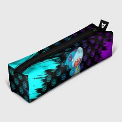 Школьный пенал с принтом Brawl stars leon shark, цвет: 3D, артикул: 10207752505837 — фото 1