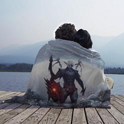 Плед флисовый Dark Knight цвета 3D-принт — фото 2