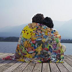 Плед флисовый Pokemon Bombing цвета 3D — фото 2