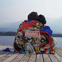 Плед флисовый Thor: MARVEL цвета 3D — фото 2