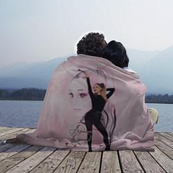 Плед флисовый Ariana Grande цвета 3D — фото 2