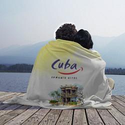 Плед флисовый Куба цвета 3D-принт — фото 2