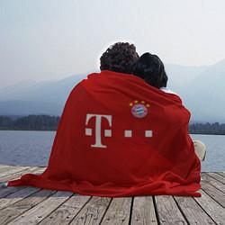 Плед флисовый FC Bayern Munchen цвета 3D-принт — фото 2