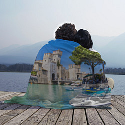 Плед флисовый Италия цвета 3D — фото 2